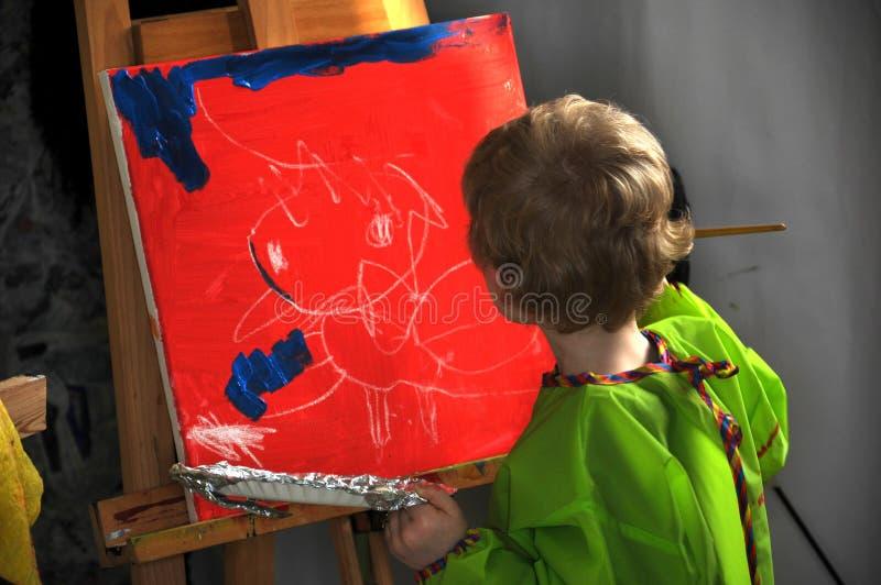 Obraz chłopiec obraz royalty free
