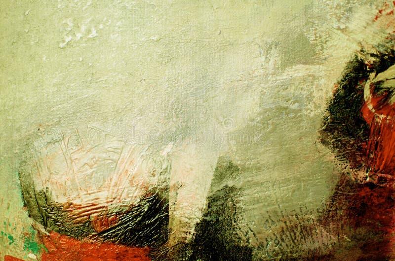 Obraz olejny abstrakt obrazy stock