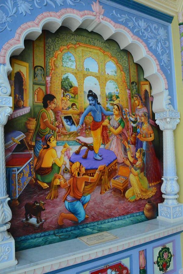 Obraz władyka Krishna zdjęcie stock