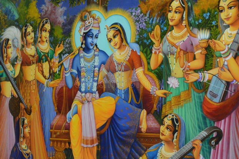 Obraz władyka Krishna obraz stock