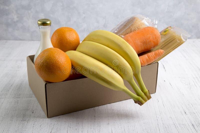 Obraz z dostawą żywności zdjęcia stock