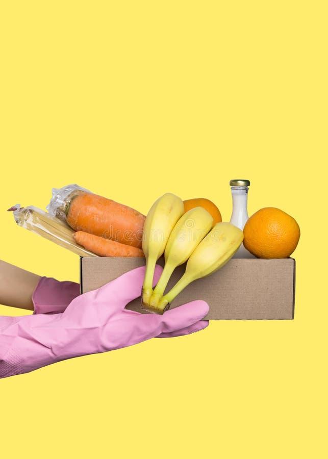 Obraz z dostawą żywności obrazy royalty free
