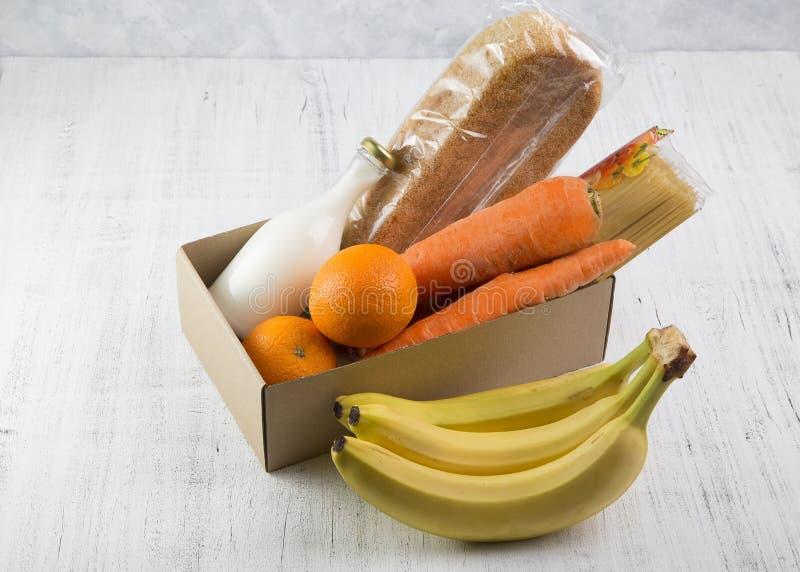 Obraz z dostawą żywności zdjęcie stock