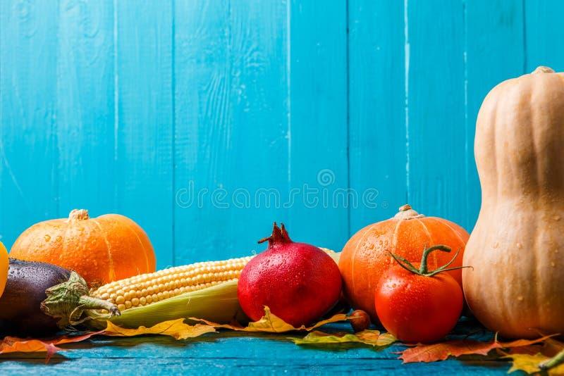 Obrazek bania, pomidor, granatowiec, jesień leafs fotografia royalty free