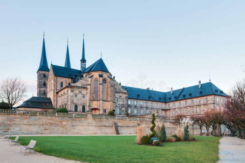 Obrazek Michaelsberg w Bamberg, Bavaria/ zdjęcia royalty free