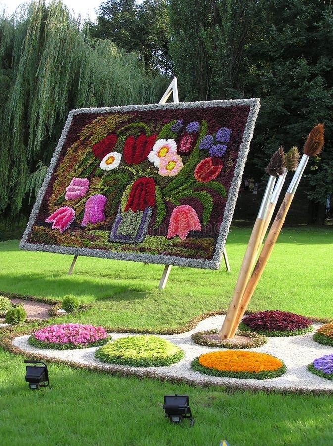 Obrazek od kwiatów zdjęcia stock