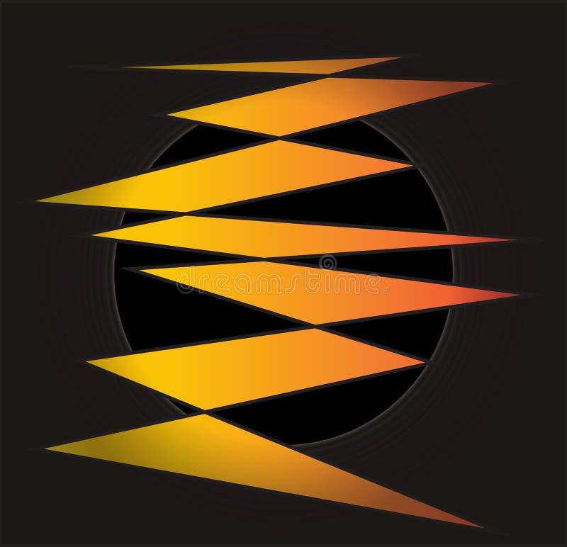 Obrazek pomarańczowy rygiel obrazy stock