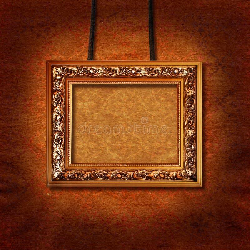 obrazek ramowa ściana zdjęcie royalty free