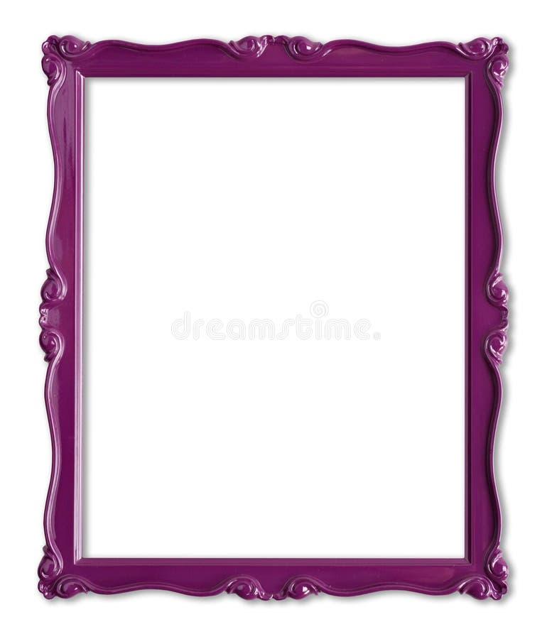 obrazek ramowe purpury zdjęcie royalty free