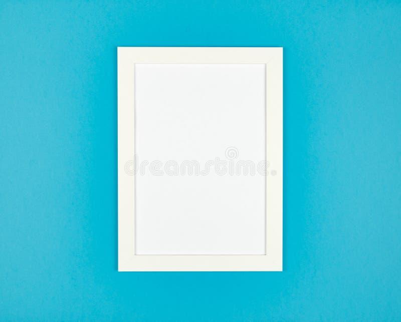 Obrazek ramy mieszkanie kłaść na textured pastel barwiącym papierowym tle obrazy stock