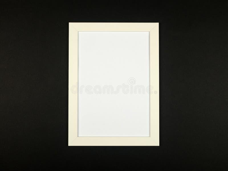 Obrazek ramy mieszkanie kłaść na textured pastel barwiącym papierowym tle obrazy royalty free