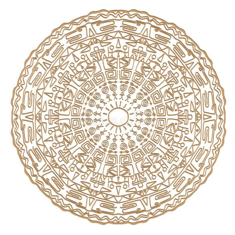 Obrazek stara cywilizacja royalty ilustracja