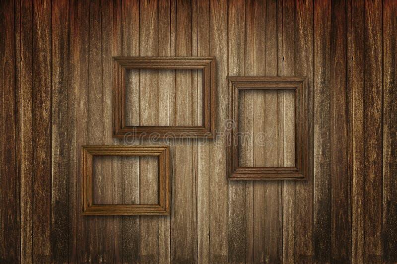Obrazek stare drewniane ramy zdjęcie stock