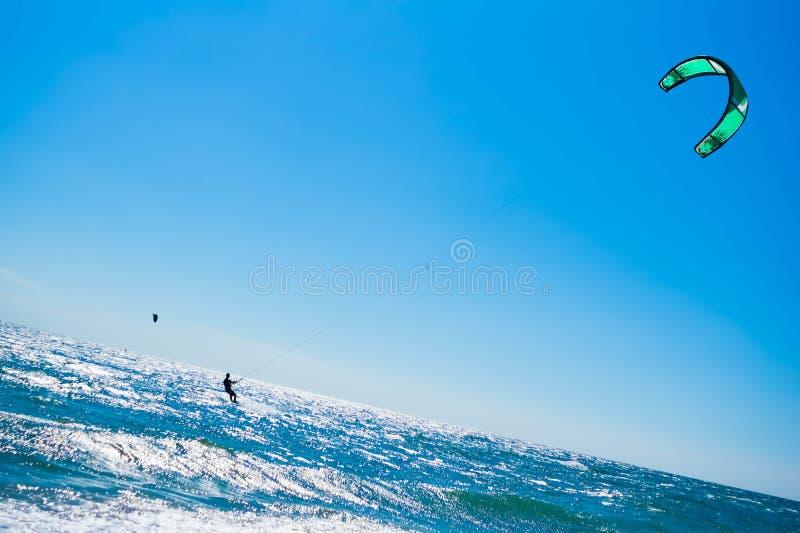 Obrazek Surfować fala plaża, niebo, styl życia, baryłka, ocean obrazy stock