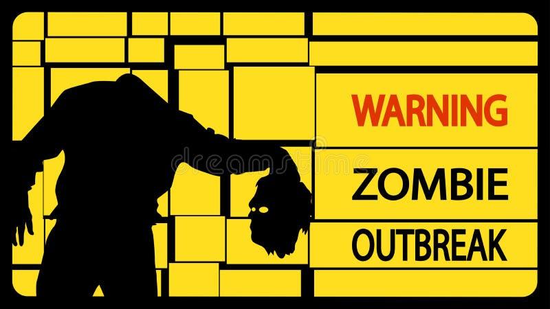Obrazek zombie128 royalty ilustracja