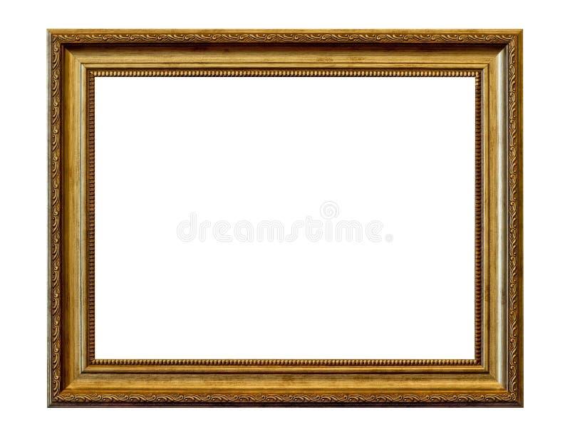 obrazka ramowy złoty rocznik obrazy stock