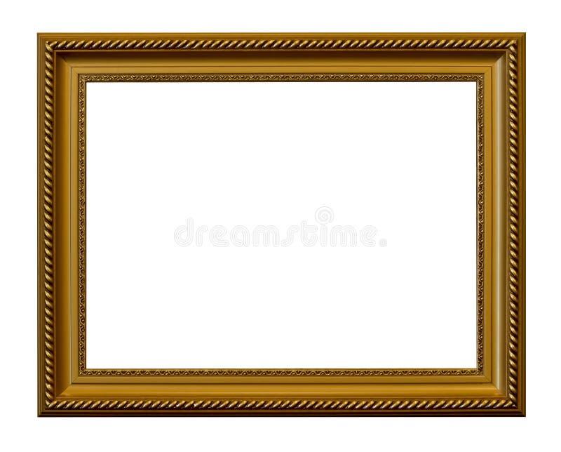 obrazka ramowy złoty rocznik zdjęcie stock