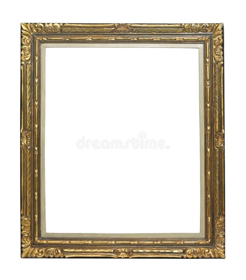 obrazka ramowy złoty rocznik obrazy royalty free