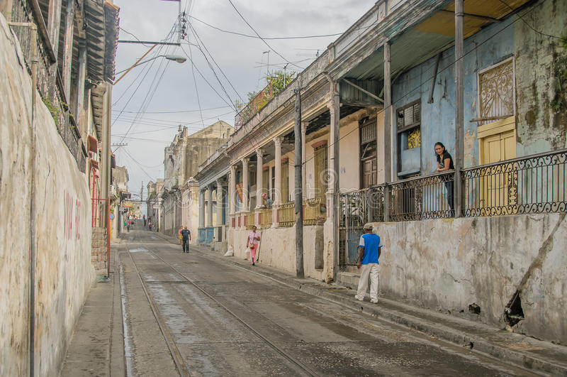 Obrazki Kuba, Santiago - de Kuba fotografia stock