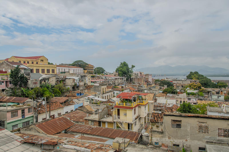 Obrazki Kuba, Santiago - de Kuba obrazy royalty free