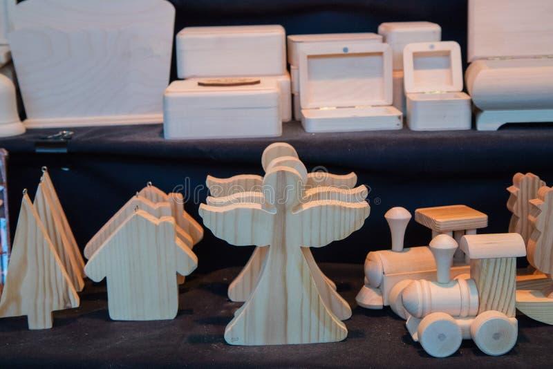 Obrazu i kolorystyki drewniana zabawka zdjęcie royalty free