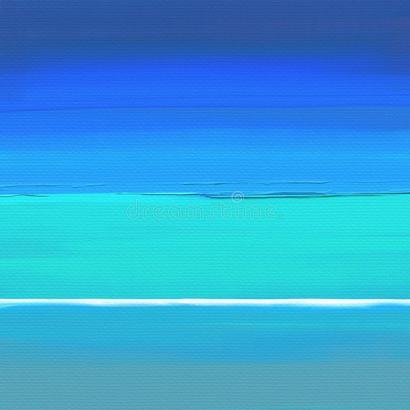 Obrazu olejnego abstrakta stylu grafika na kanwie obrazy royalty free