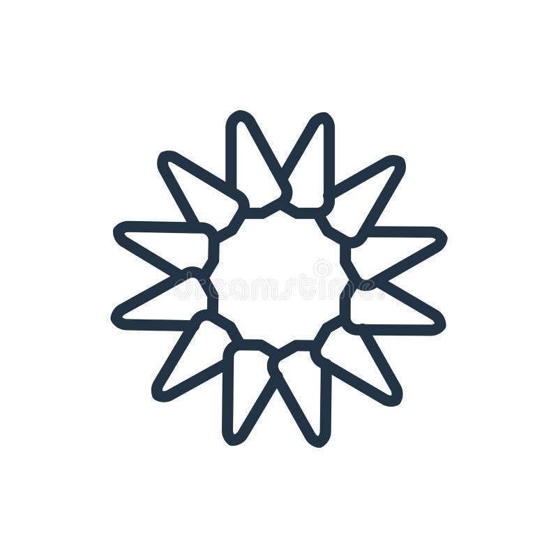 Obrazuje ikona wektor odizolowywającego na białym tle, obrazka znak ilustracja wektor