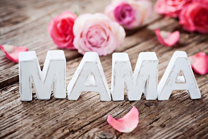 Obrigado, mamãe! foto de stock royalty free