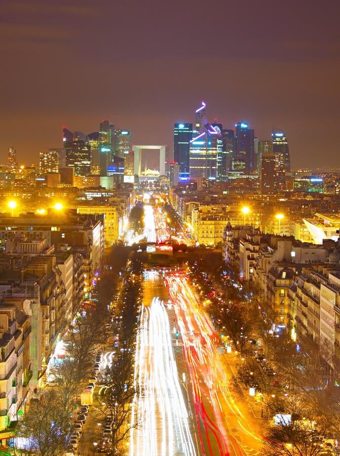 Download Obrona, Paryż zdjęcie stock. Obraz złożonej z półmrok - 53782866
