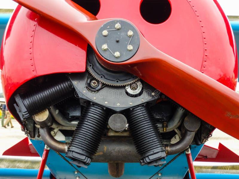 Obrotowy samolotu silnik obrazy stock