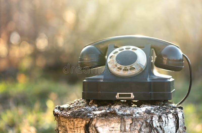 Obrotowy telefon obraz stock