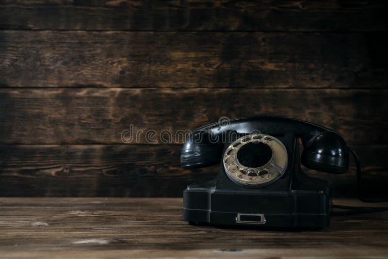 Obrotowy telefon fotografia stock