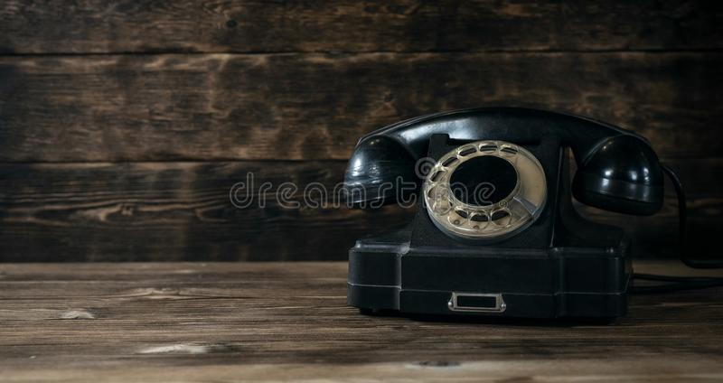 Obrotowy telefon obrazy royalty free