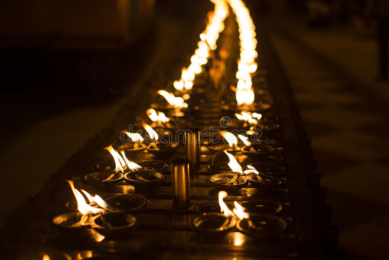 Obrządkowe świeczki obraz royalty free
