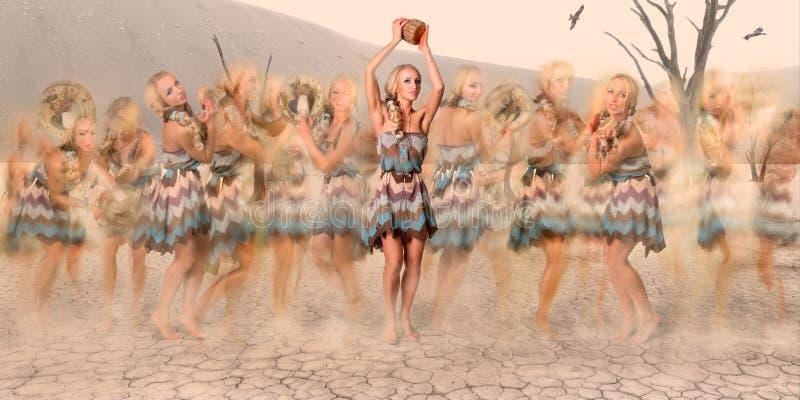 Obrządkowy taniec obrazy royalty free