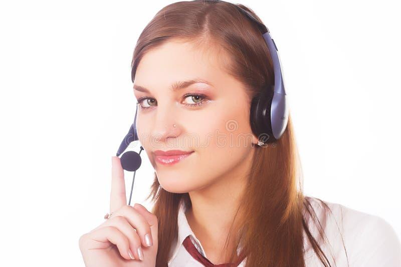 Obsługa klienta agent obraz stock
