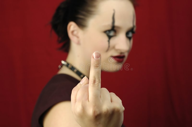 Download Obscene gesture stock photo. Image of young, adult, black - 151968