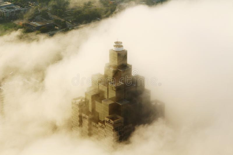 Obscured by Clouds stock images