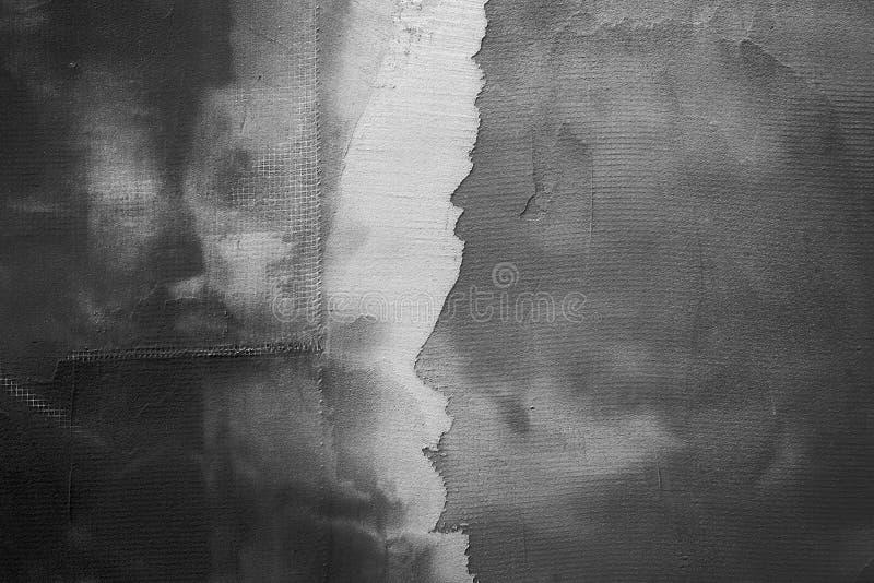 Obscuridade abstrata - textura cinzenta do emplastro foto de stock royalty free