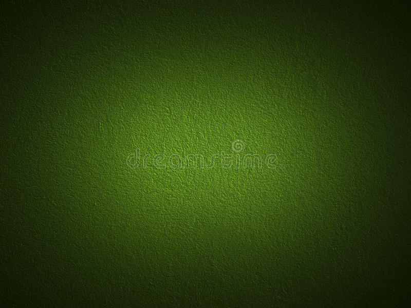 Obscuridade da grão - parede verde da pintura imagem de stock royalty free