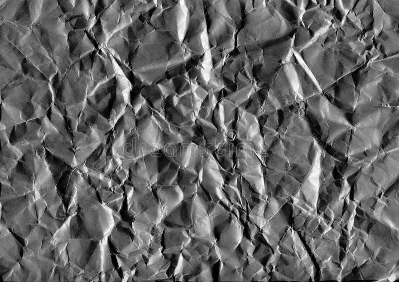 A obscuridade de Ð'ackground amarrotou a qualidade de papel, alta da imagem fotografia de stock