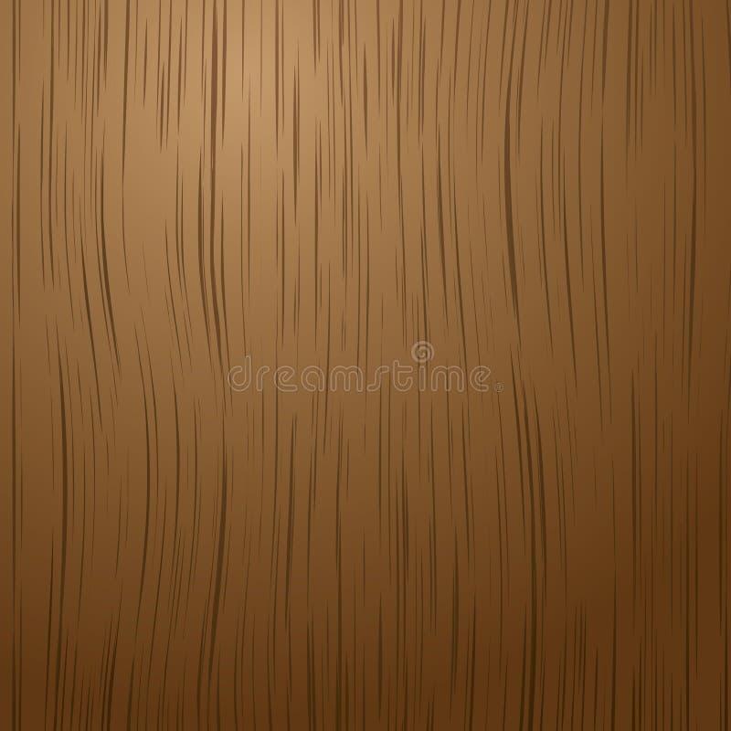 Obscuridade de madeira ilustração do vetor