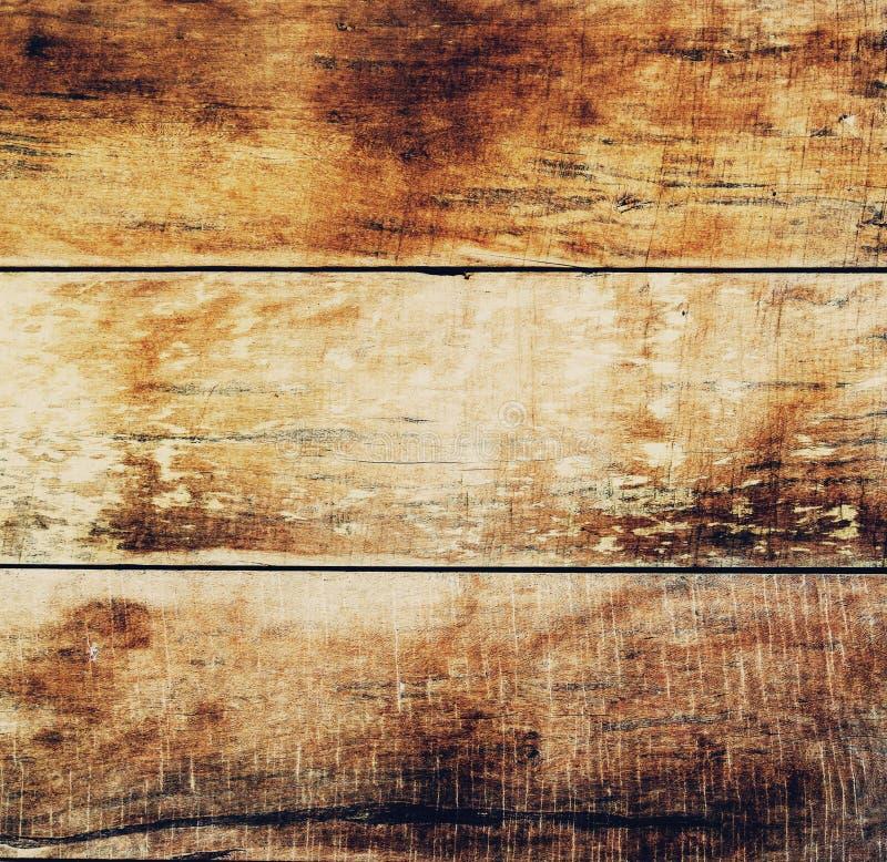 A obscuridade de madeira natural velha das pranchas de Brown envelheceu vazio imagens de stock