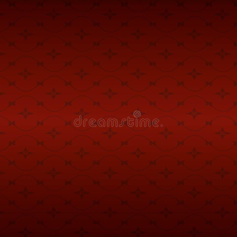 Obscuridade do fundo - vermelho com uma luz sutil ilustração do vetor