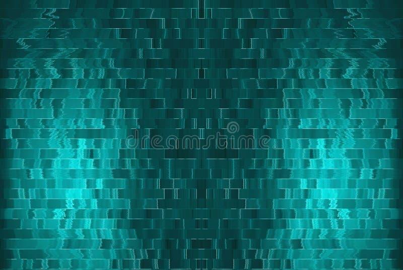 Obscuridade lisa - azul com uso preto do poço do estúdio da vinheta como o backgrou ilustração stock