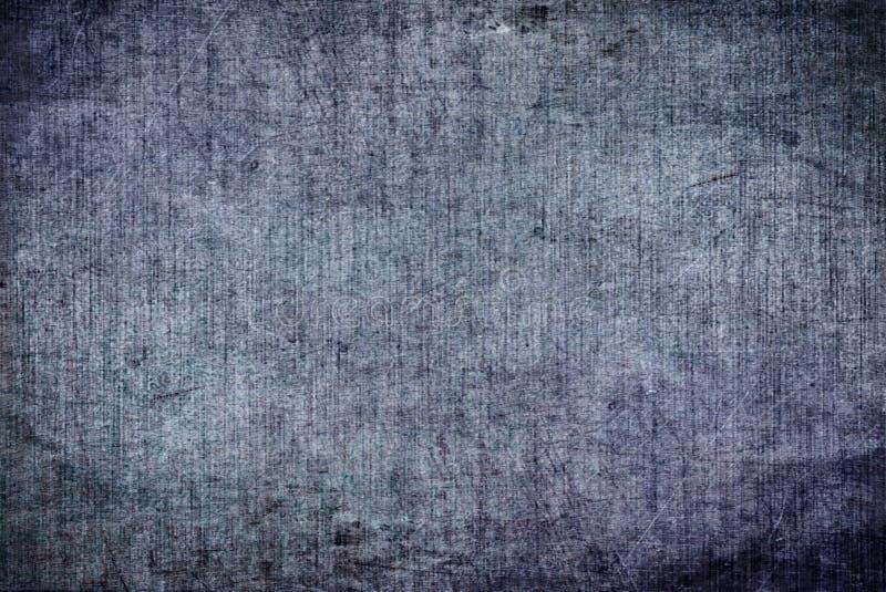 Obscuridade rachada do Grunge - teste padrão de pintura Autumn Background Wallpaper da textura da lona azul de Grey Rusty Distort imagens de stock royalty free