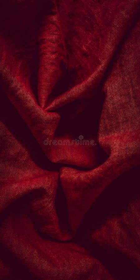 A obscuridade - vermelho foto de stock