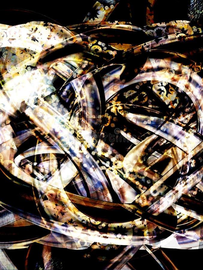 Obscurité 2 de tresse illustration libre de droits