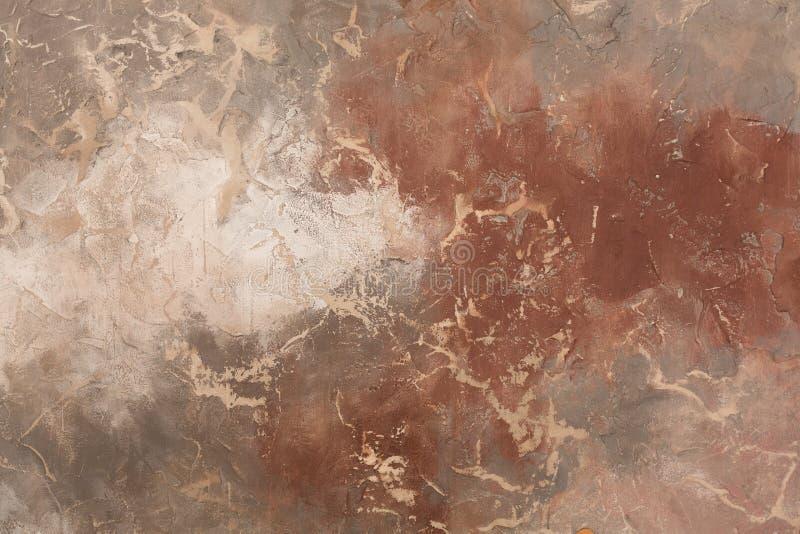 Obscurité abstraite et fond brun clair Bsckground coloré pour le concepteur images stock