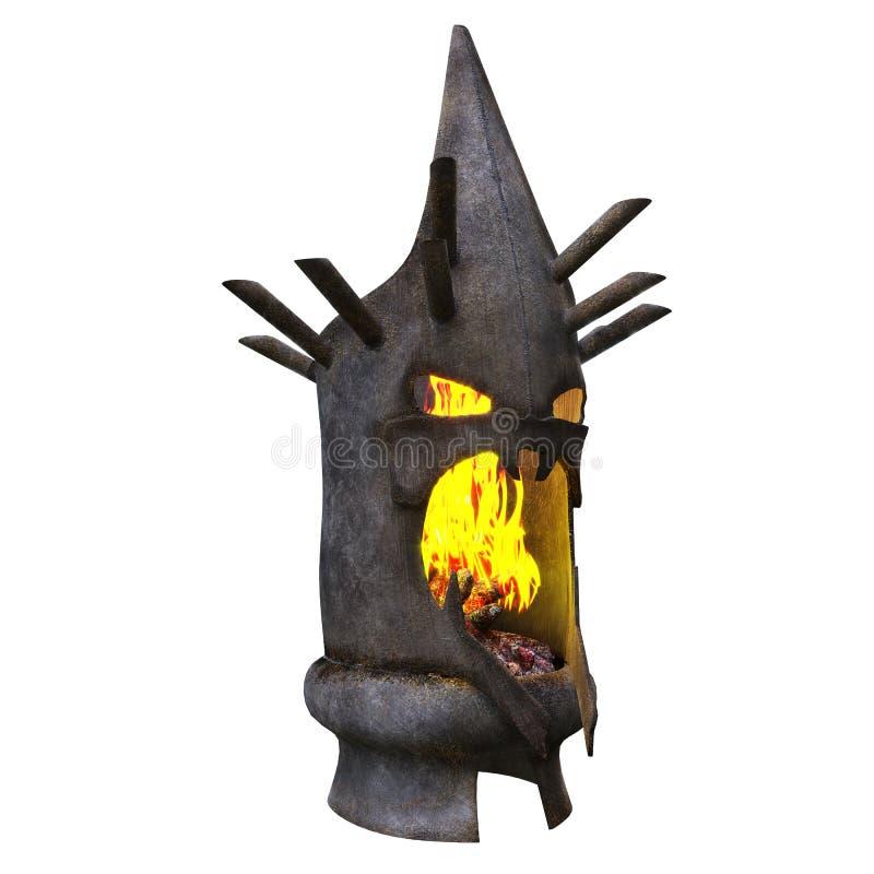 Obscurité de cheminée haed